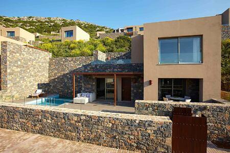 Villa at Daios Cove Crete Greece