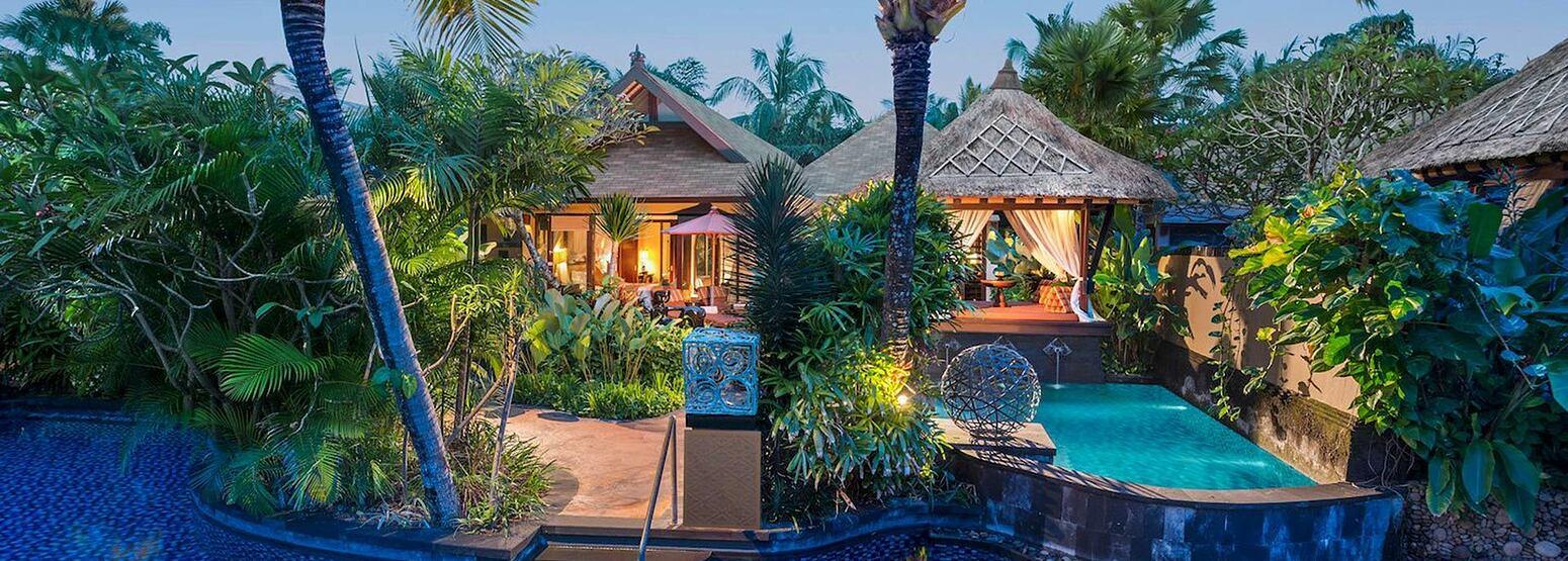 Villa with pool at St Regis Bali Indonesia