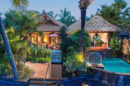 Villa with pool at St Regis Bali Indonesia