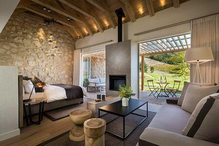 Viognier suite at Mont Rochelle Franschhoek South Africa