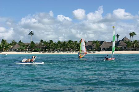 Water sports at Constance Belle Mare Mauritius