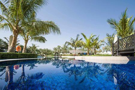 pool at Waldorf Astoria UAE