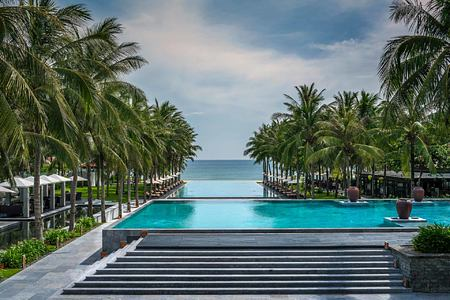 pools at The Nam Hai Vietnam