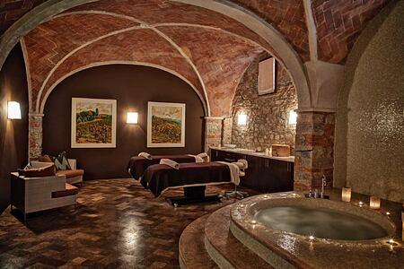 spa at Castello di Casole Italy
