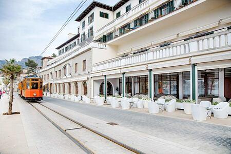 tram near Esplendido Hotel Majorca