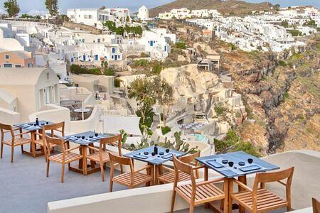 ASEA Restaurant at Mystique Santorini Greece