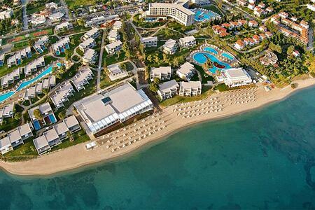 Aerial view of Ikos Olivia Greece