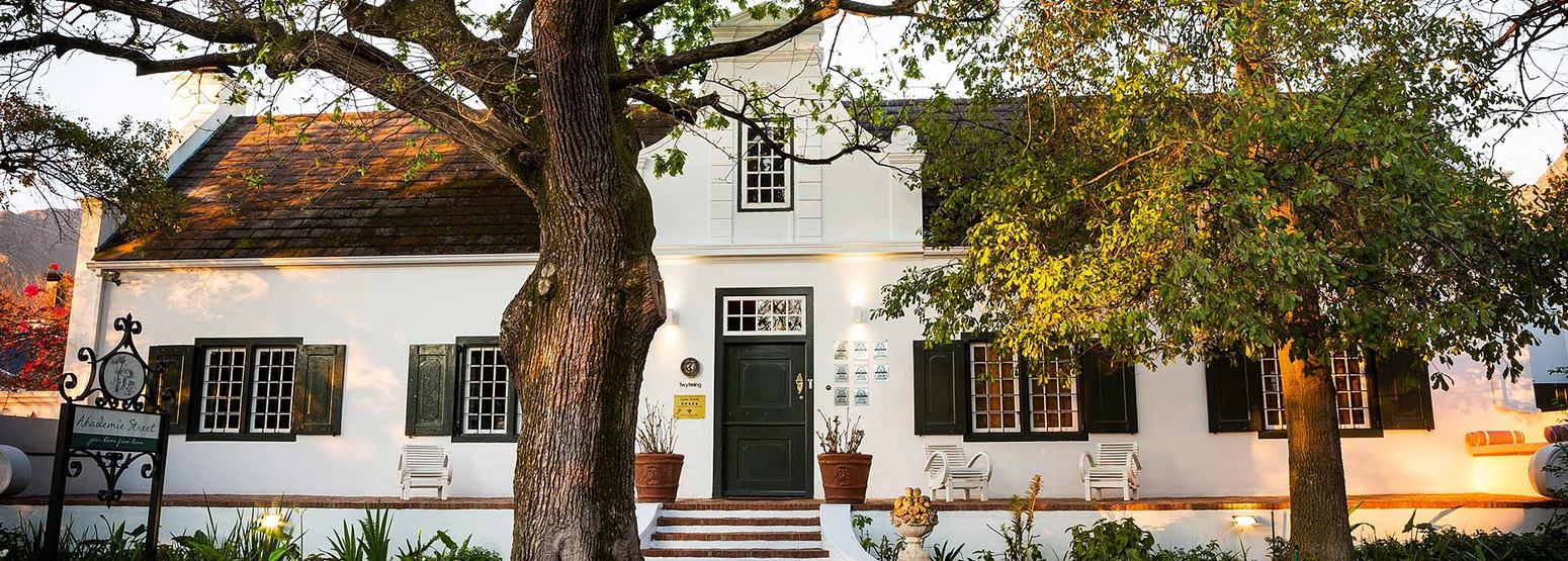 Front of Akademie Street South Africa