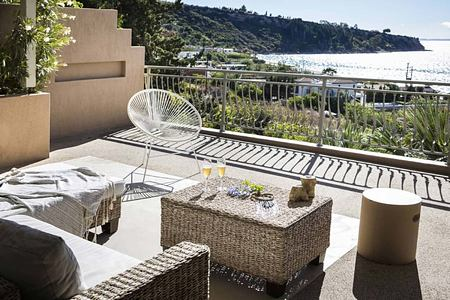 Balcony with views at F Zeen Kefalonia Greece