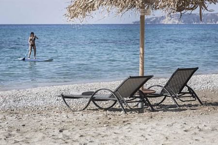 Beach at F Zeen Kefalonia Greece
