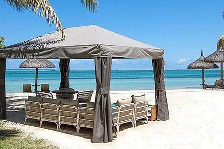 Beach at Heritage Le Telfair Mauritius
