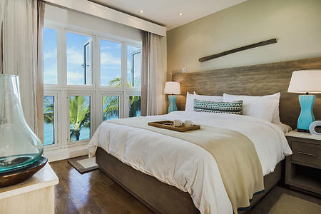 Bedroom 1 at Waves Hotel and Spa Barbados