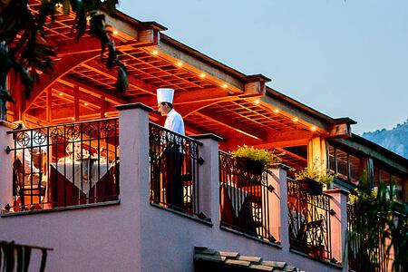 Belvedere Restaurant at Forte Village Villa del Parco Sardinia Italy