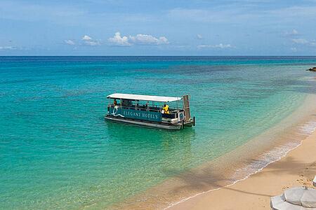 Boat Activity at Waves Hotel and Spa Barbados