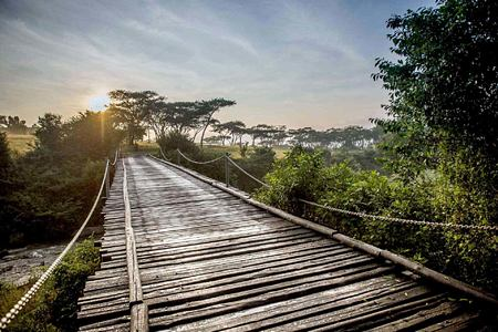 Bridge at Karkloof Safari Spa KZN South Africa