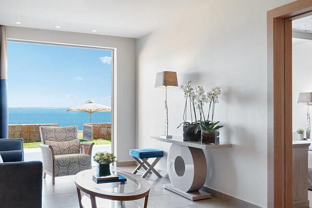 Bungalow suite at Ikos Olivia Greece