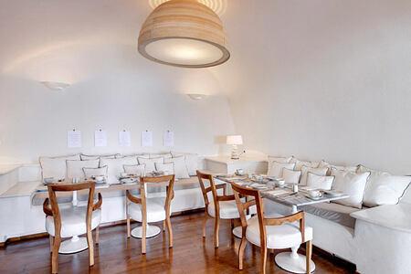 Captains Lounge at Mystique Santorini Greece