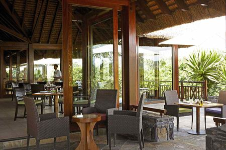 Clubhouse Restaurant at Le Touessrok Mauritius