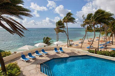 Cocos pool at St James Club and Villas Antigua