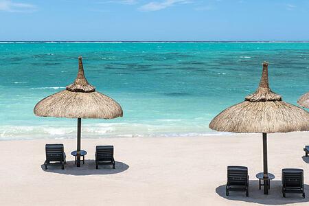 Coral Beach at Le Touessrok Mauritius