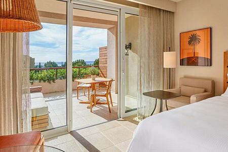 Deluxe Seaview King at Westin Resort Costa Navarino Greece