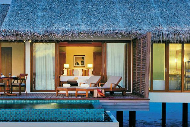 Deluxe over water pool villas one bedroom at The Residence Maldives