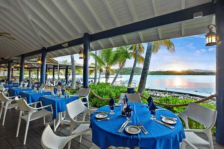 Docksider Restaurant at St James Club and Villas Antigua