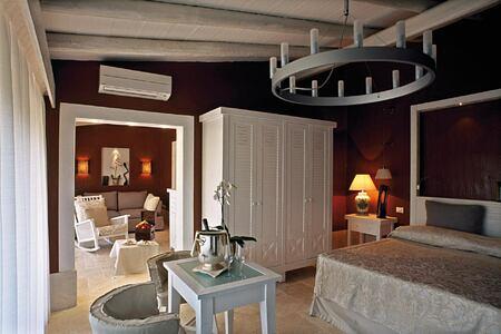Dune Suite interior at Forte Village Le Dune Sardinia Italy