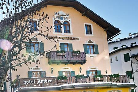 Facade at Hotel Ambra Italy