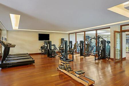Fitness Room at Westin Resort Costa Navarino Greece