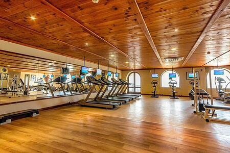 Fitness room at Kempinski San Lawrenz Malta