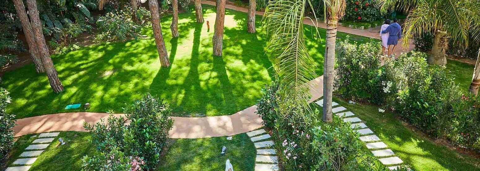 Gardens at Forte Village Villa del Parco Sardinia Italy
