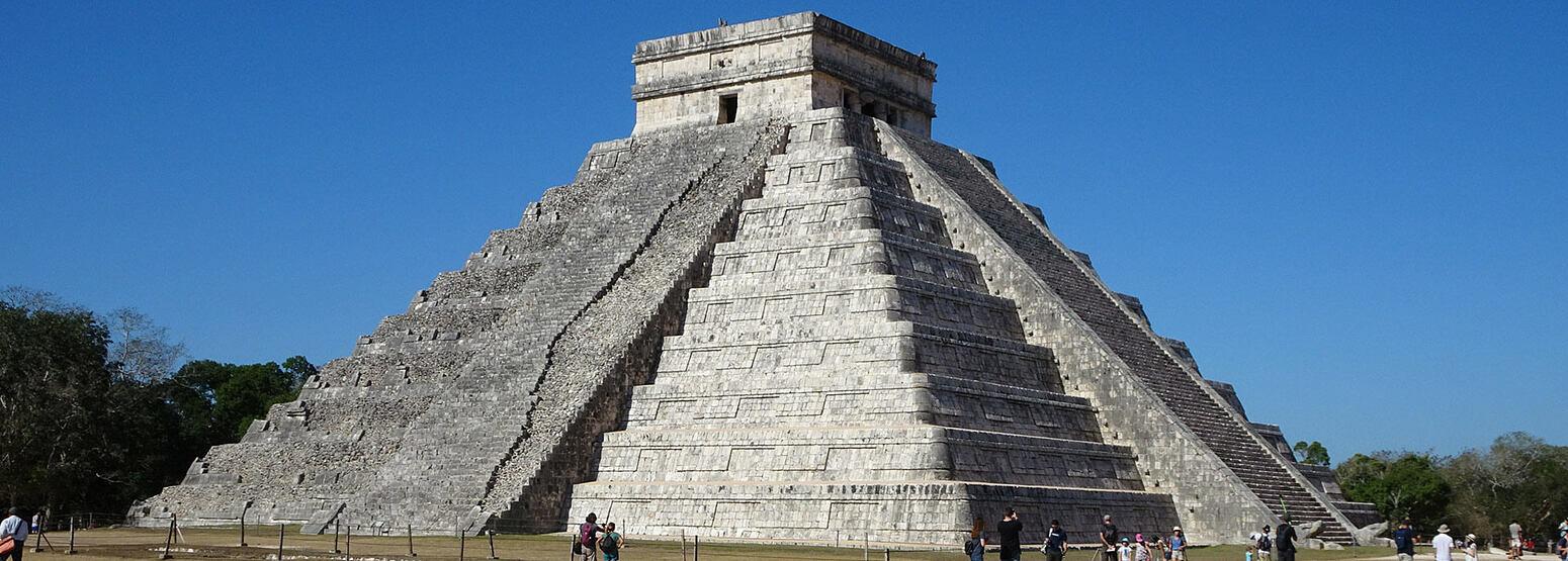 Chichen Itza near Hacienda Chichen Mexico