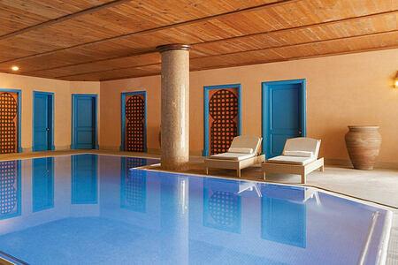 Hammam pool at Kempinski San Lawrenz Malta