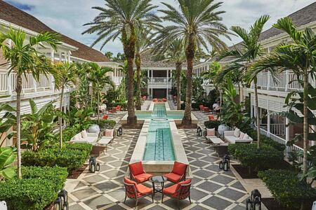 Hertford Courtyard at Four Seasons Ocean Club Bahamas