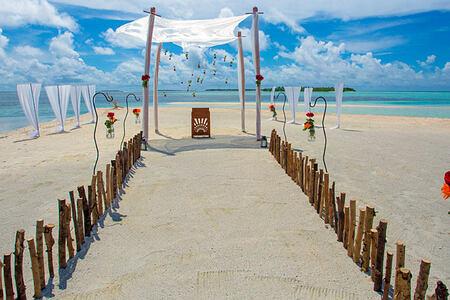 Island Ceremony at The Residence Maldives