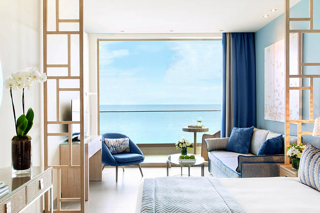 Junior suite at Ikos Oceania Greece