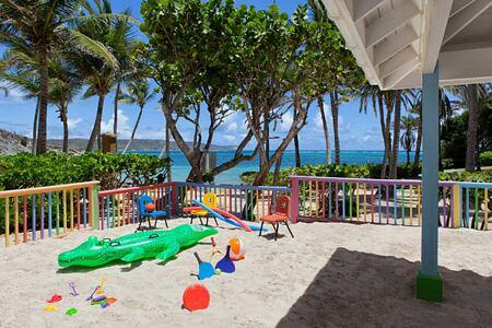 Kids club at St James Club and Villas Antigua