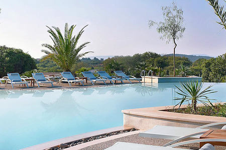 Lagoon Pool at Westin Resort Costa Navarino Greece