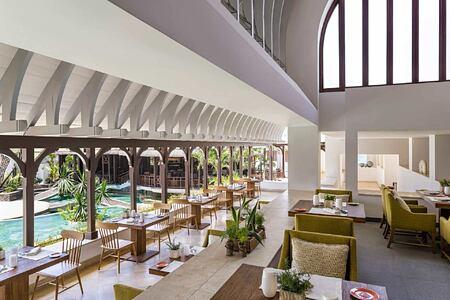 Le Bazar Restaurant at Le Touessrok Mauritius