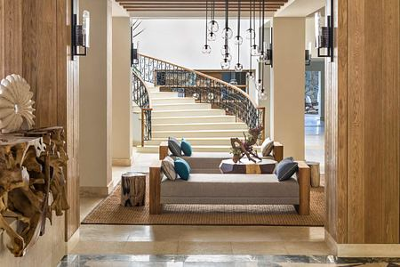 Lobby Lounge at Le Touessrok Mauritius