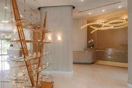 Lobby area at Ikos Olivia Greece