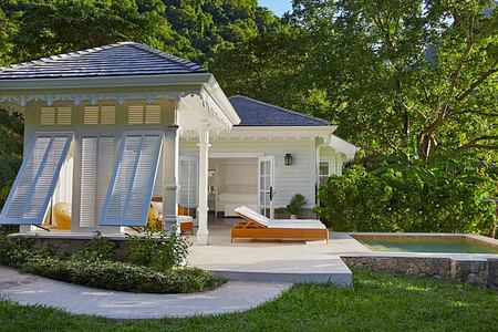 Luxury cottage at Sugar Beach St Lucia