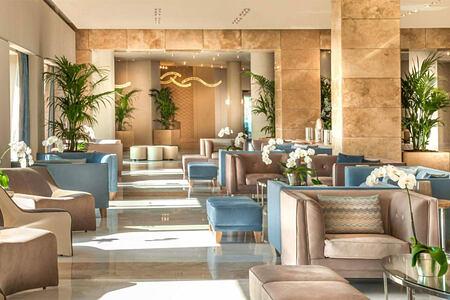 Main Lobby area at Ikos Olivia Greece