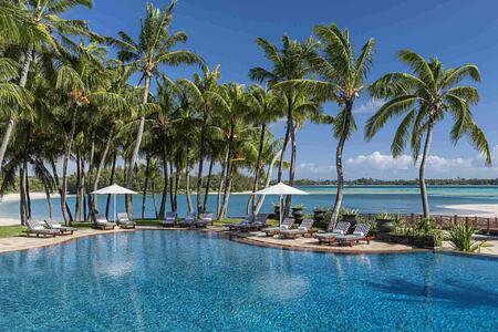 Main Pool at Le Touessrok Mauritius