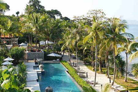 Main Pool at Trisara Phuket Thailand