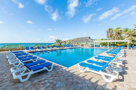 Main pool at St James Club and Villas Antigua