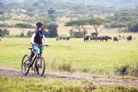 Mountain biking at Karkloof Safari Spa KZN South Africa