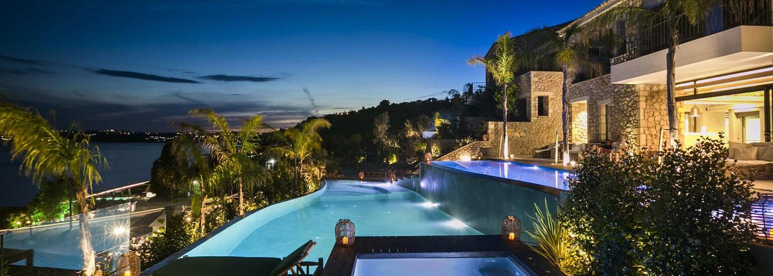 Night views of F Zeen Kefalonia Greece