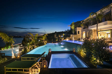 Night views of F Zeen Kefalonia Greece